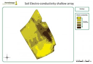 Soil Electro Conductivity (SEC) scanned map