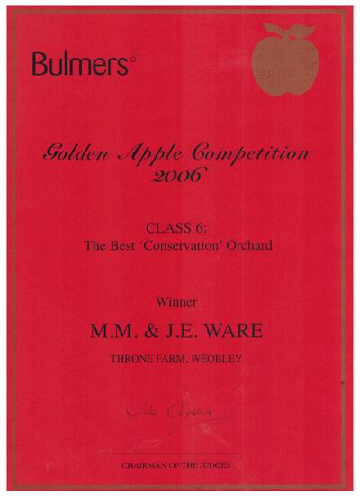 Golden Apple Awards 2006